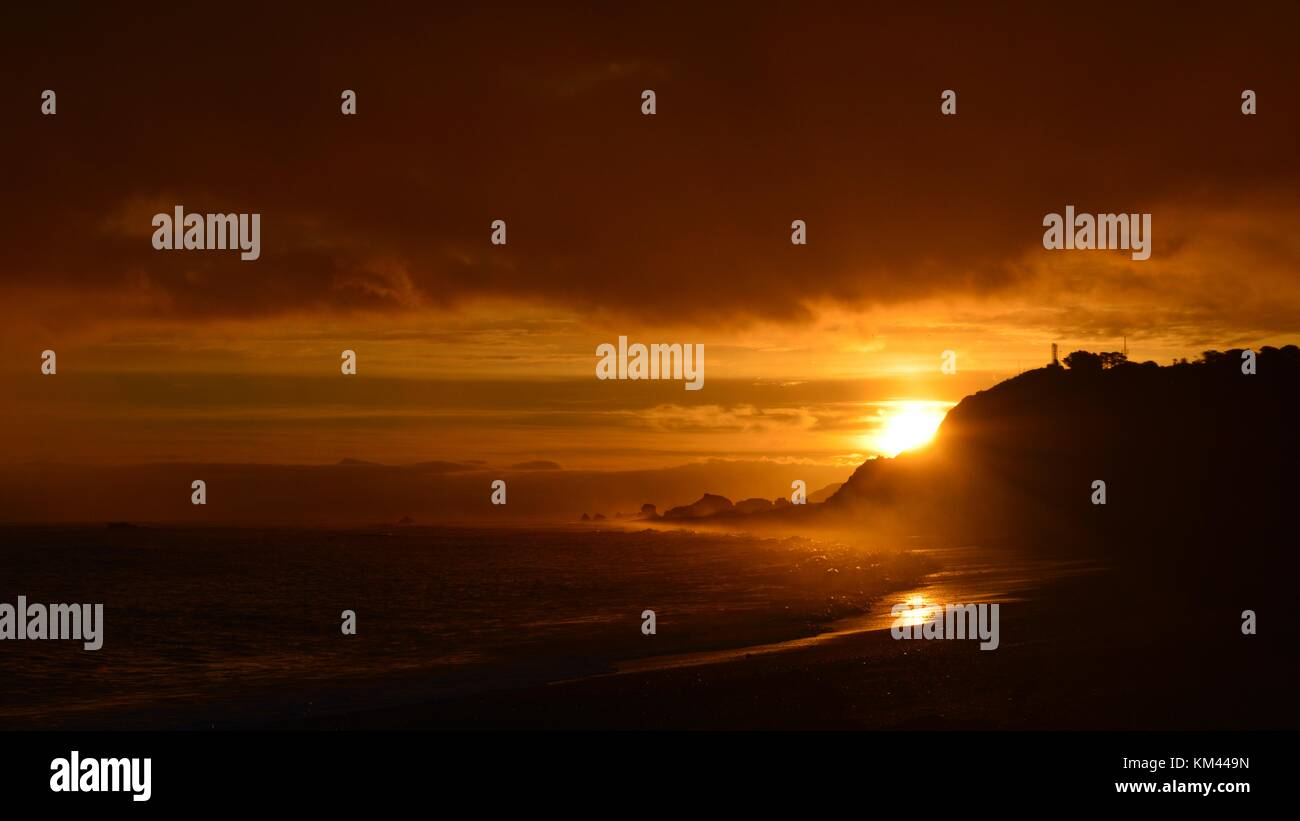 Sunset - Stock Image