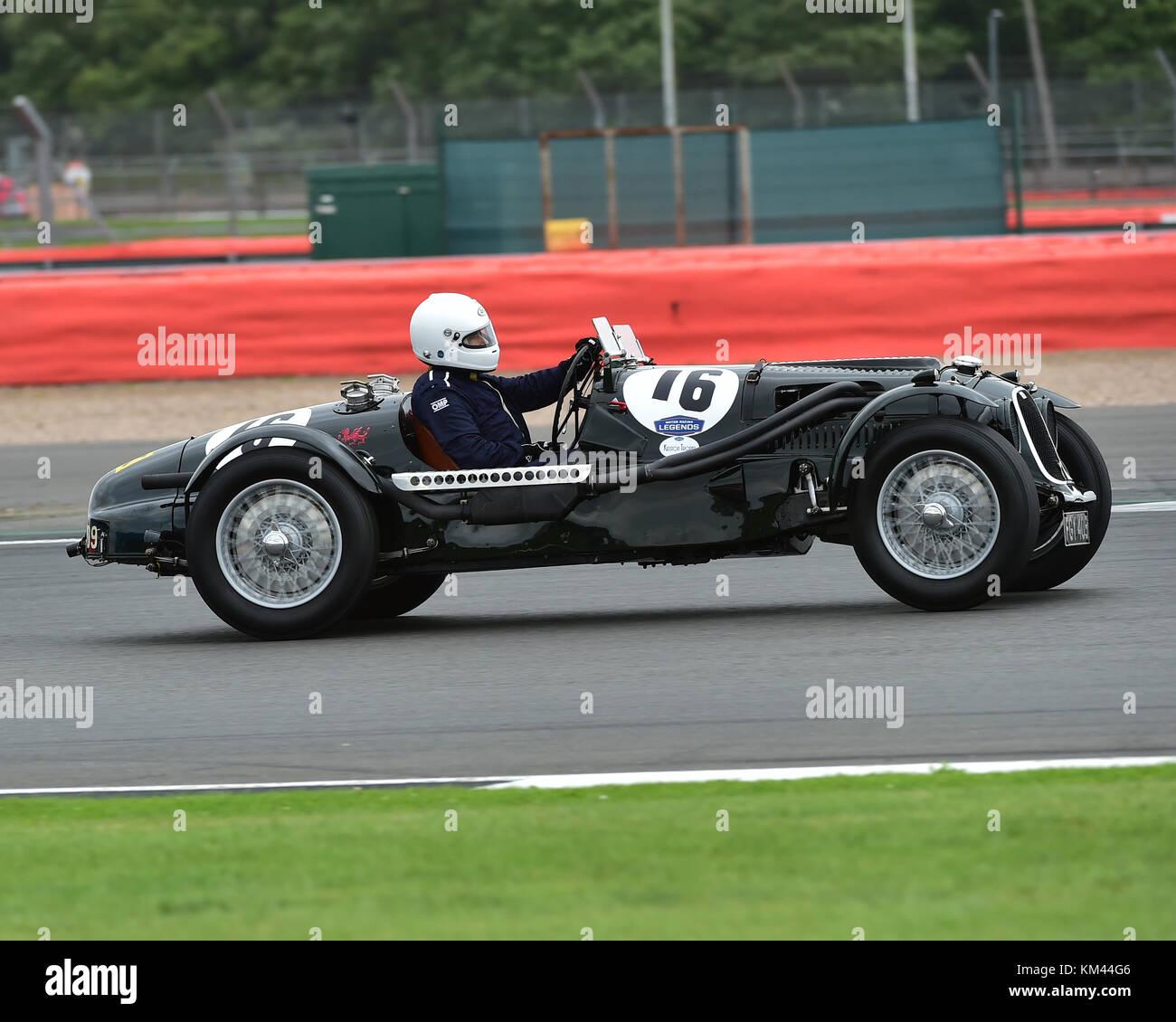 Alan Middleton Aston Martin Speed Red Dragon Kidston Trophy Stock Photo Alamy
