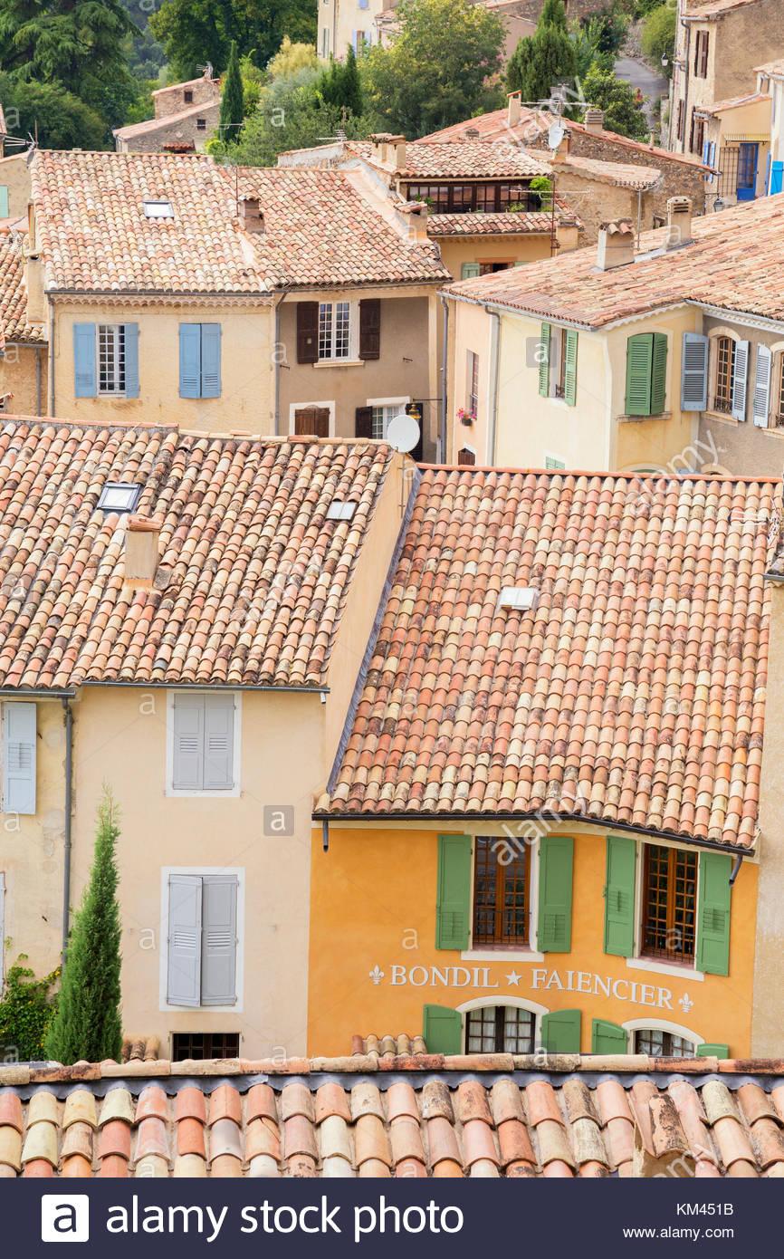Moustiers Sainte Marie, Alpes de Haute Provence, Provence, France, Europe Stock Photo