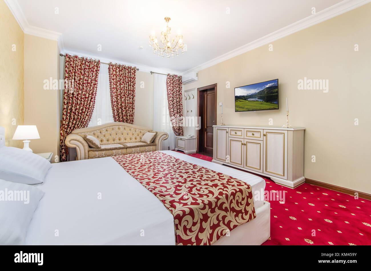 interior moldova hotel pak Lane Moldova Chisinau - Stock Image