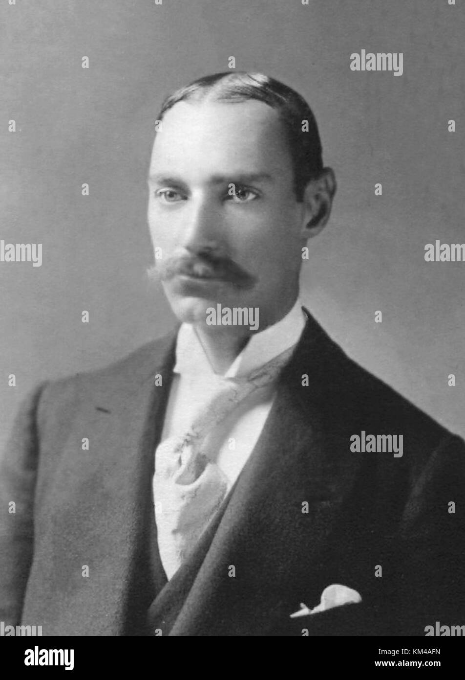 John Jacob 'Jack' Astor IV, John Astor, American businessman who died in the sinking of the RMS Titanic - Stock Image