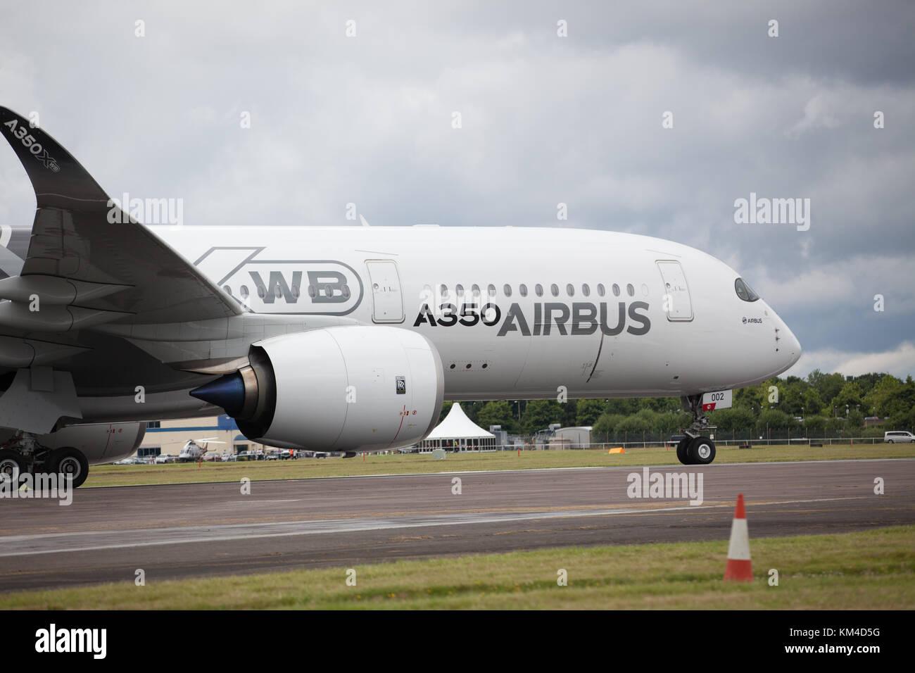 Airbus A350 XWB - Stock Image
