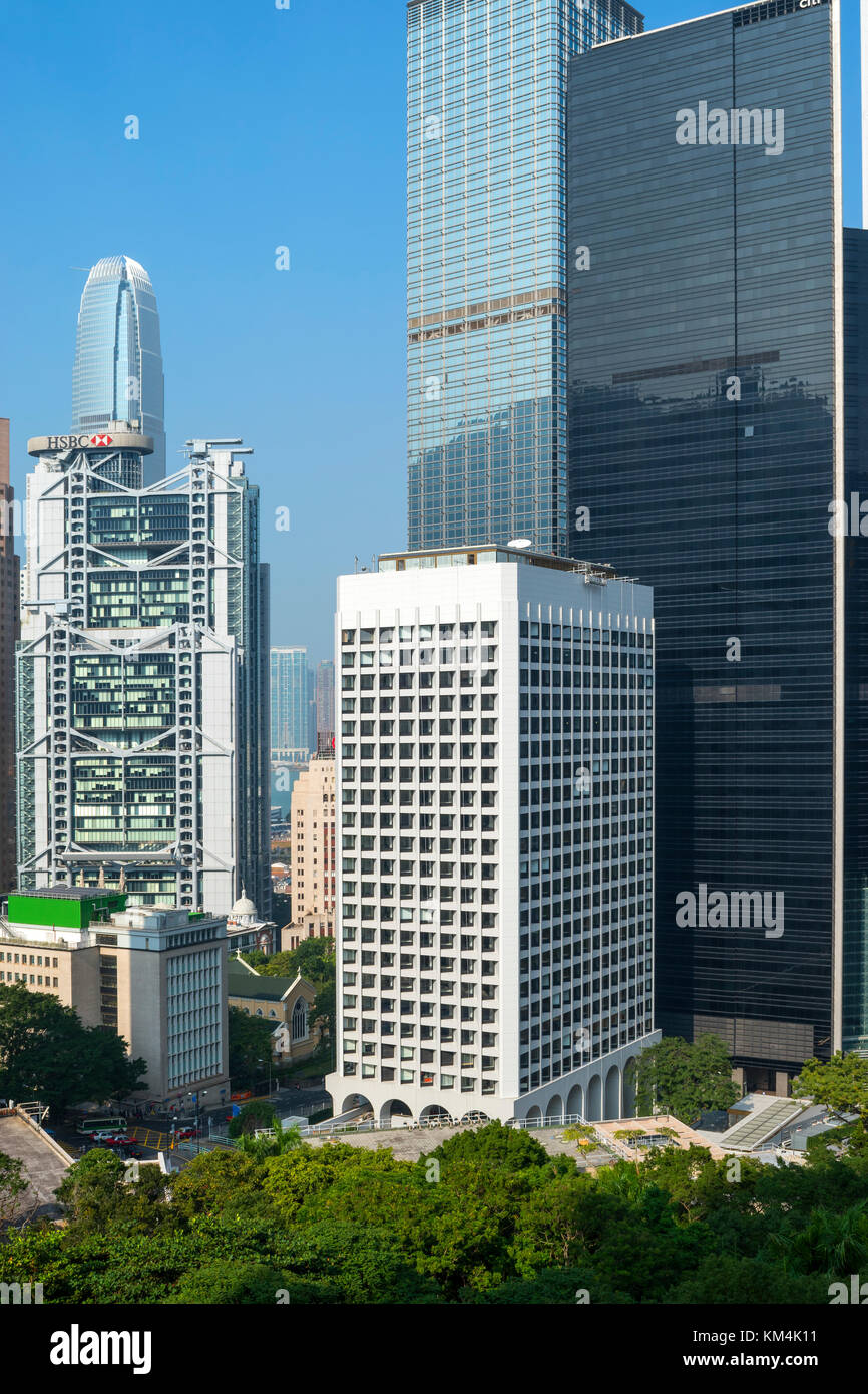 The Murray, about to open, the new 5-star hotel in Hong Kong by Norman Foster - Stock Image