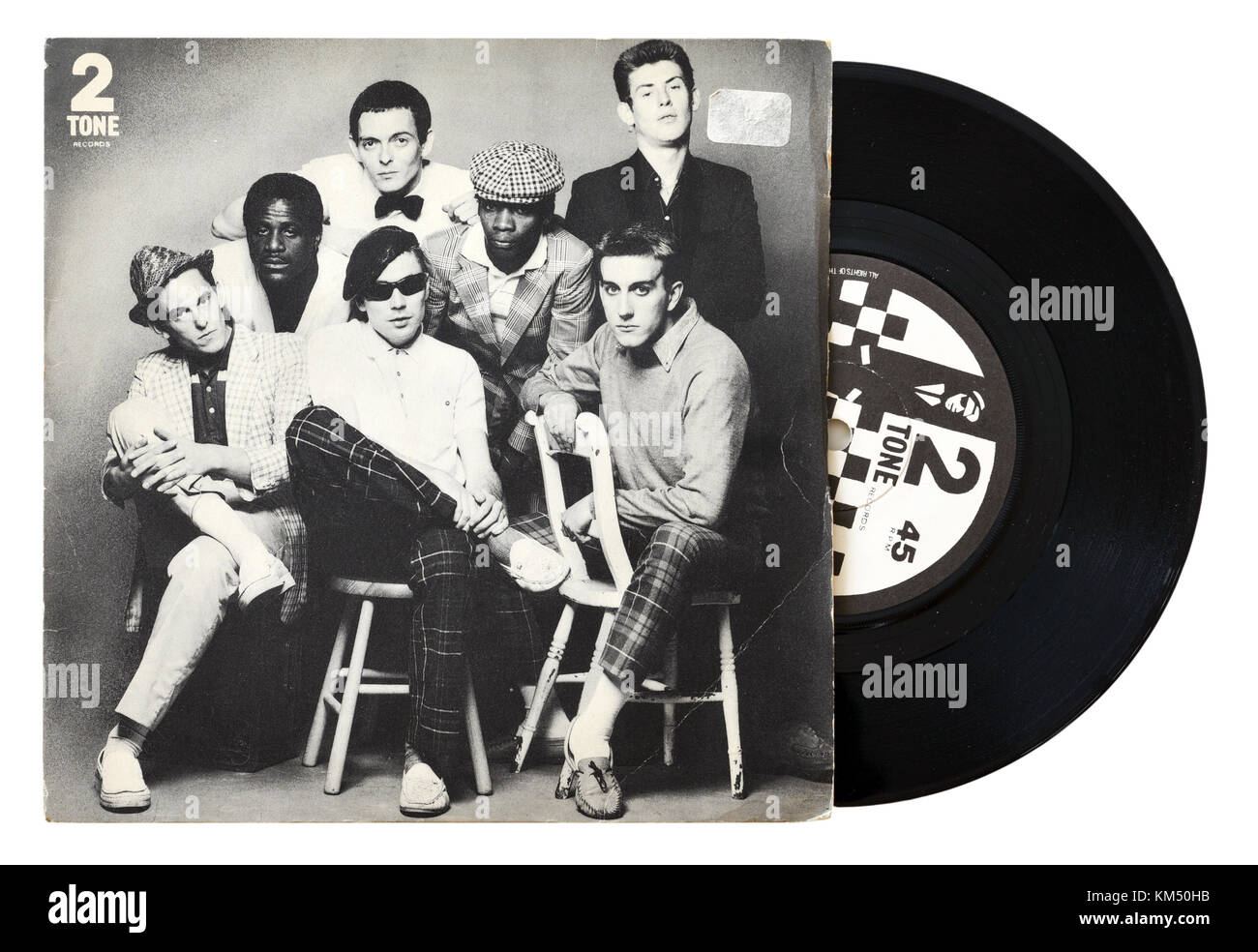 The Specials Do Nothing seven inch single - Stock Image