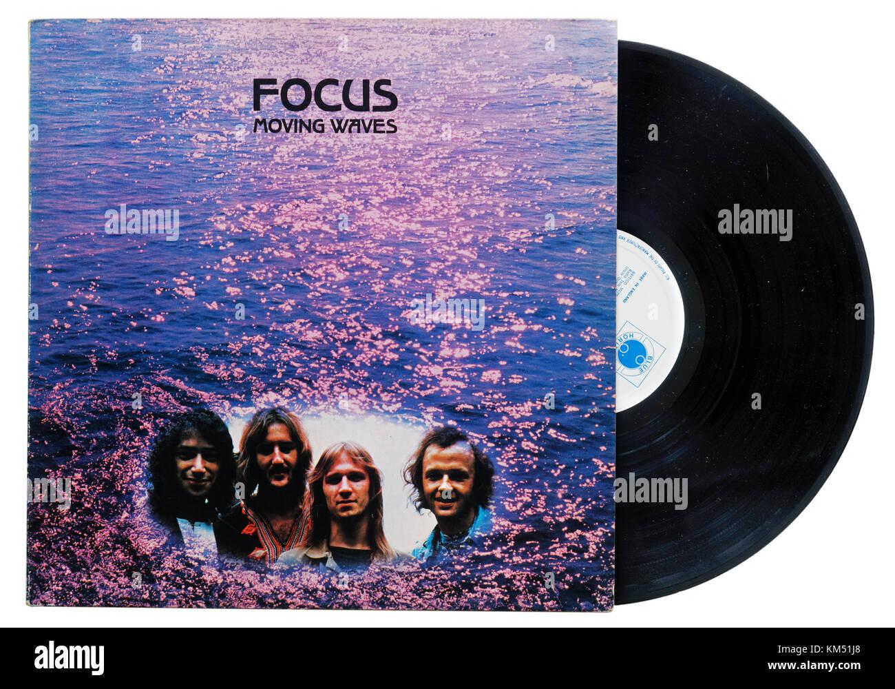 Focus Moving Waves album - Stock Image
