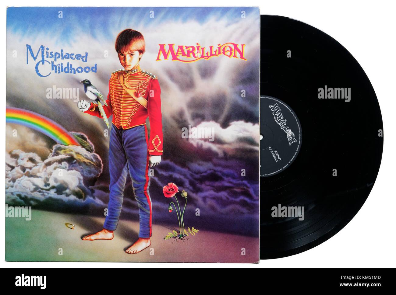 Marillion Misplaced Childhood album - Stock Image