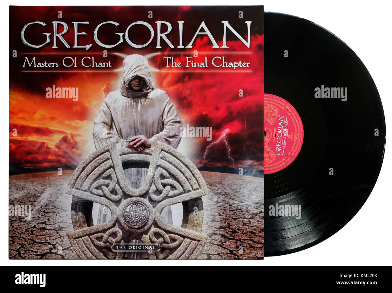 Gregorian Masters of Chant The Final Chapter album - Stock Image