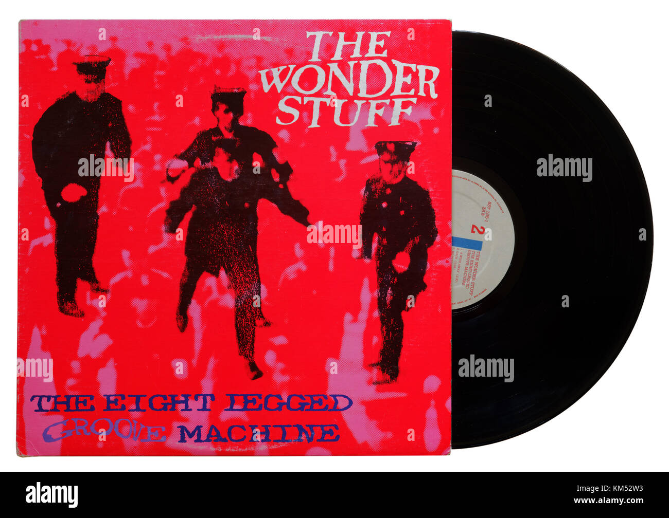 Wonder Stuff Eight Legged Groove Machine album - Stock Image