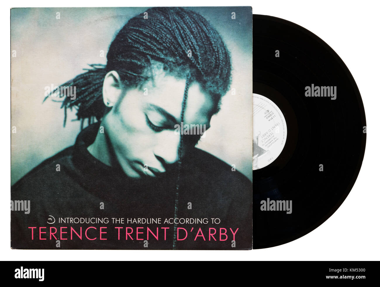 Introducing the Hardline According to Terence Trent D'Arby album - Stock Image