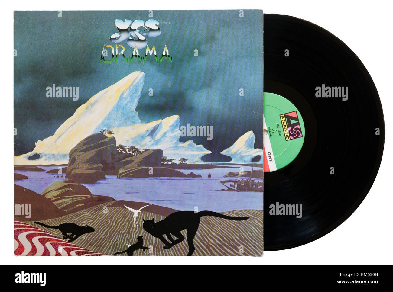 Yes Drama album - Stock Image