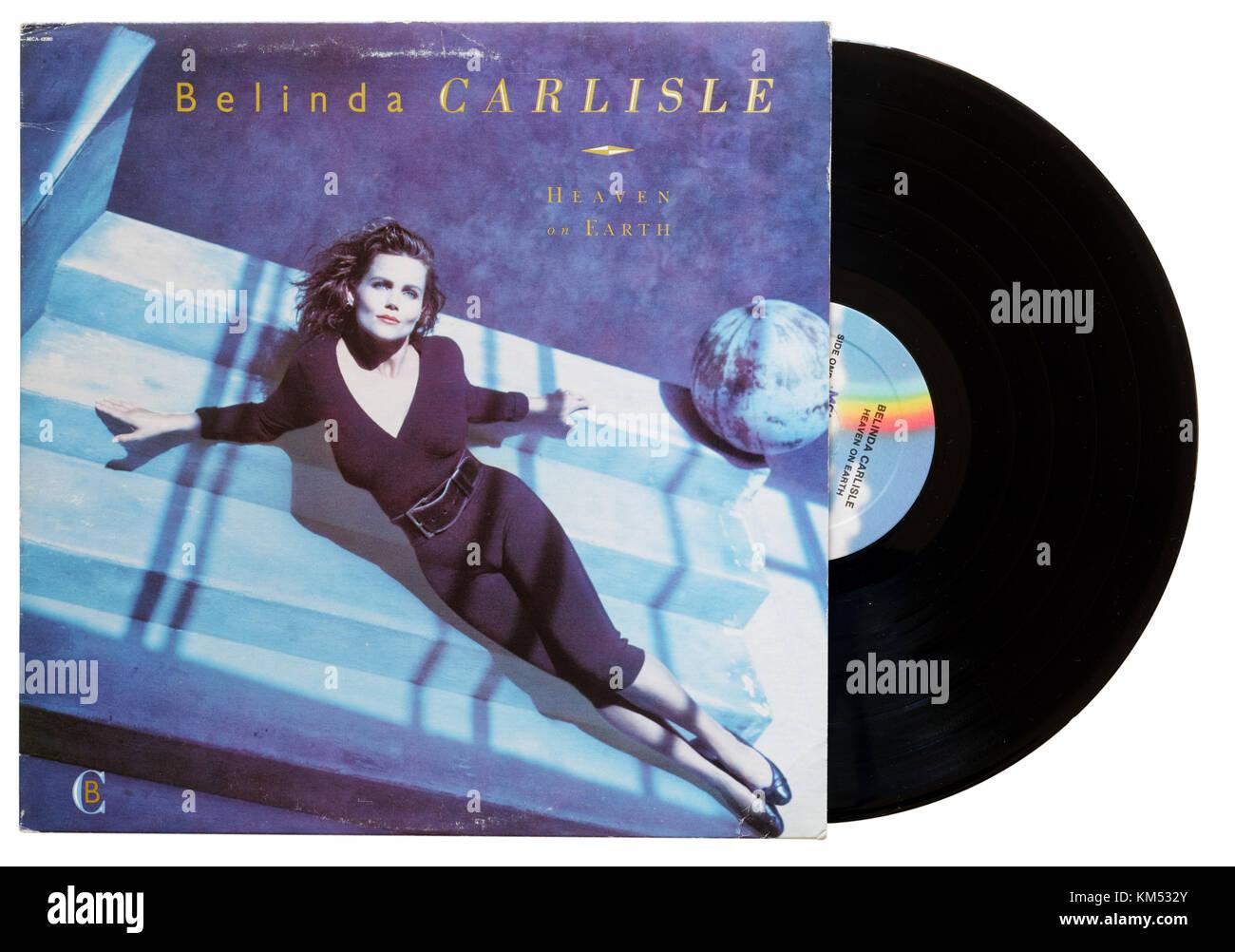 Belinda Carlisle Heaven on Earth album - Stock Image