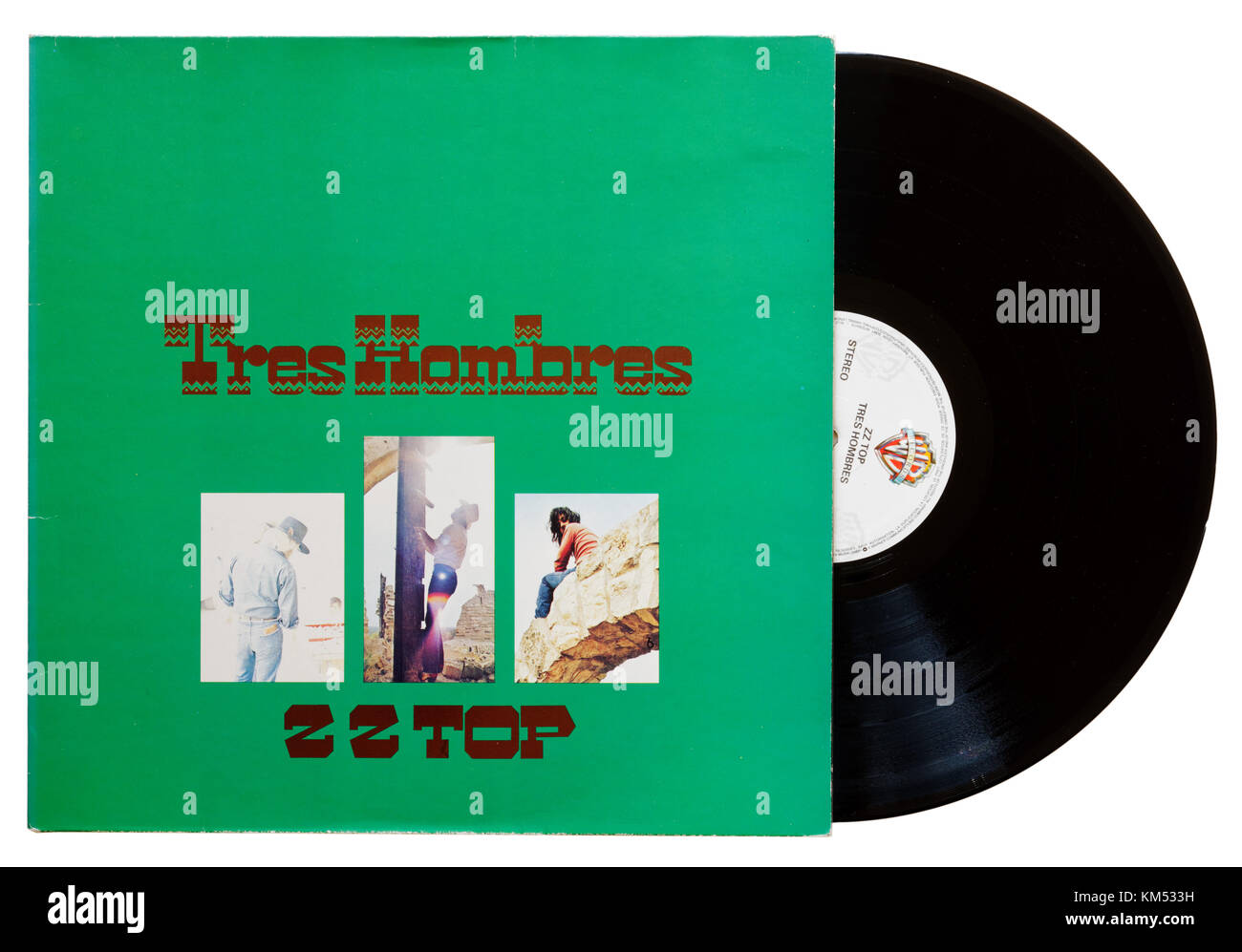 ZZ Top Tres Hombres album Stock Photo