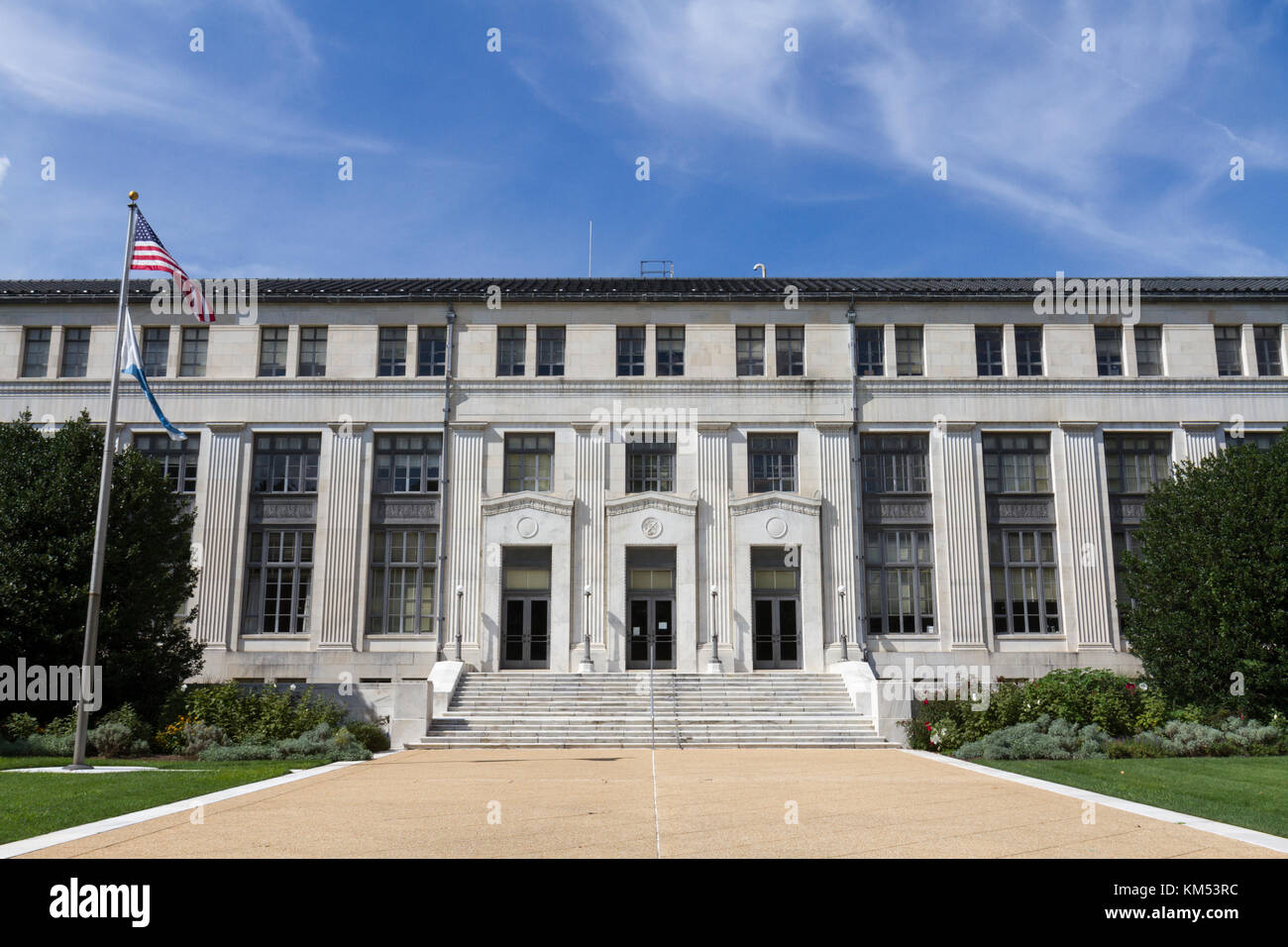 The South Interior Building (Dept Of The Interior), 1925 Constitution Ave  NW, Washington DC, United States.