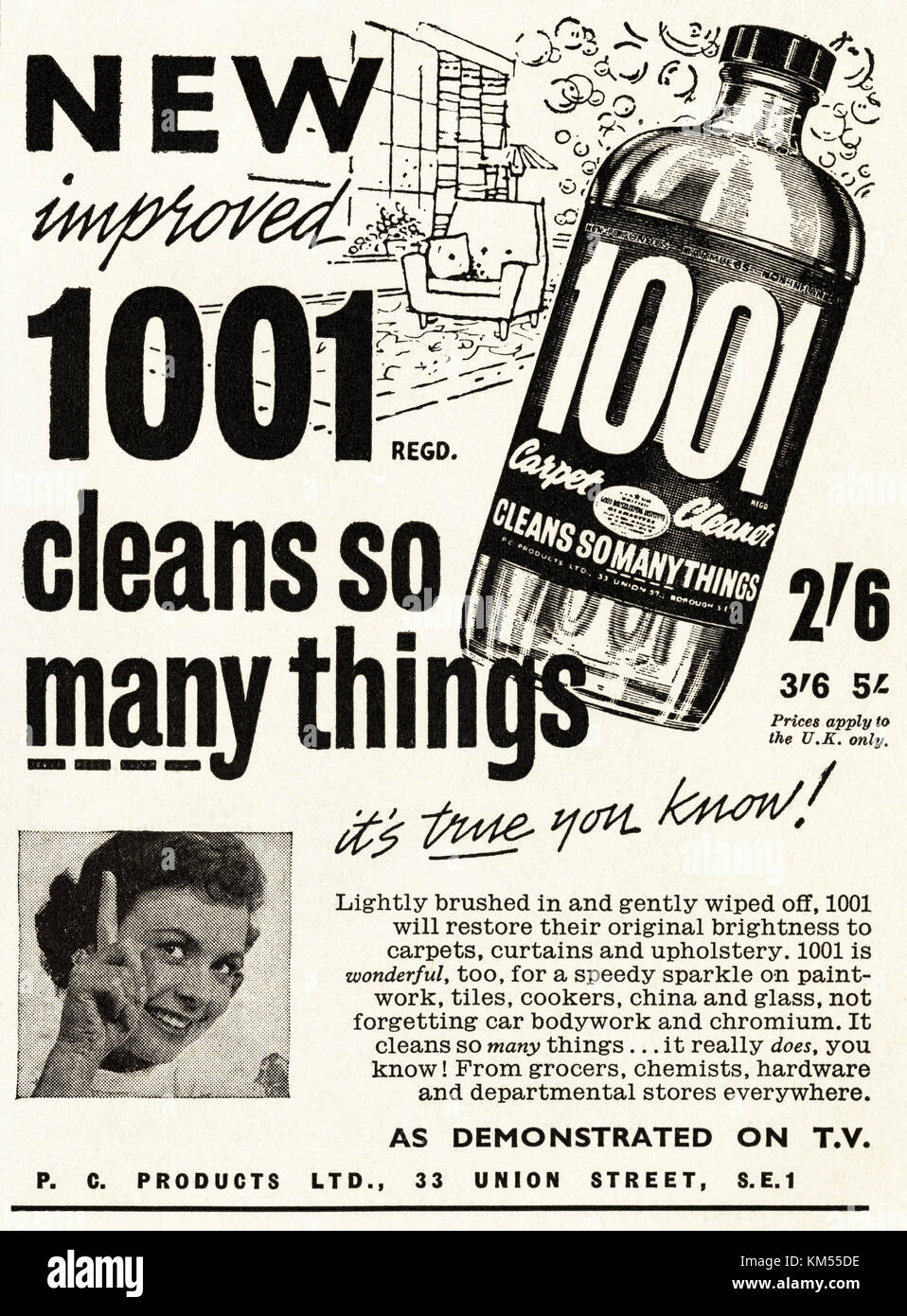 Image result for 1001 carpet cleaner for less than half a crown
