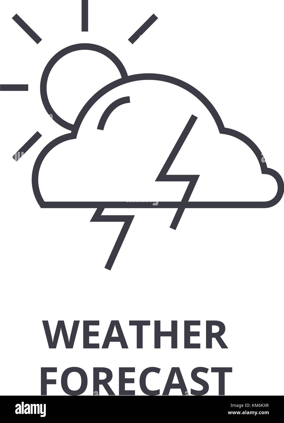Snow Symbol Weather Forecast Stock Photos Snow Symbol Weather