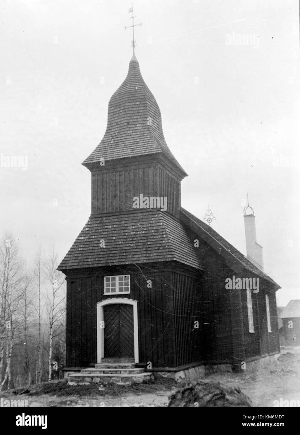 Oxberg Chapel, Dalarna, Sweden - Stock Image