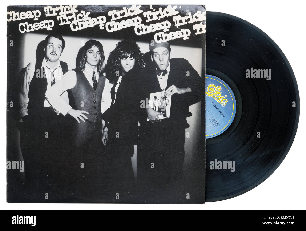 Cheap Trick's eponymous album Cheap Trick - Stock Image