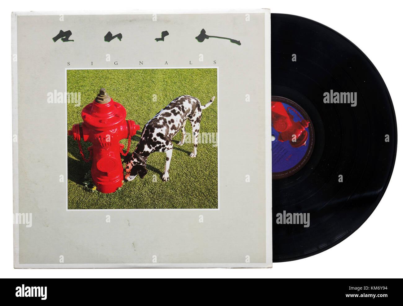 Rush Signals album - Stock Image