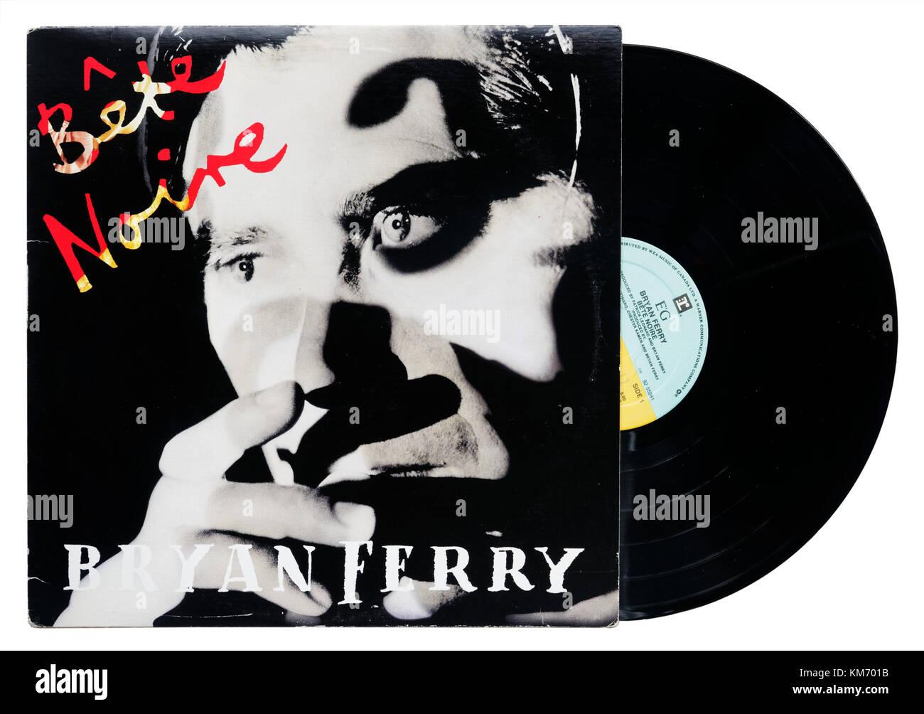 Bryan Ferry Bête Noire album - Stock Image