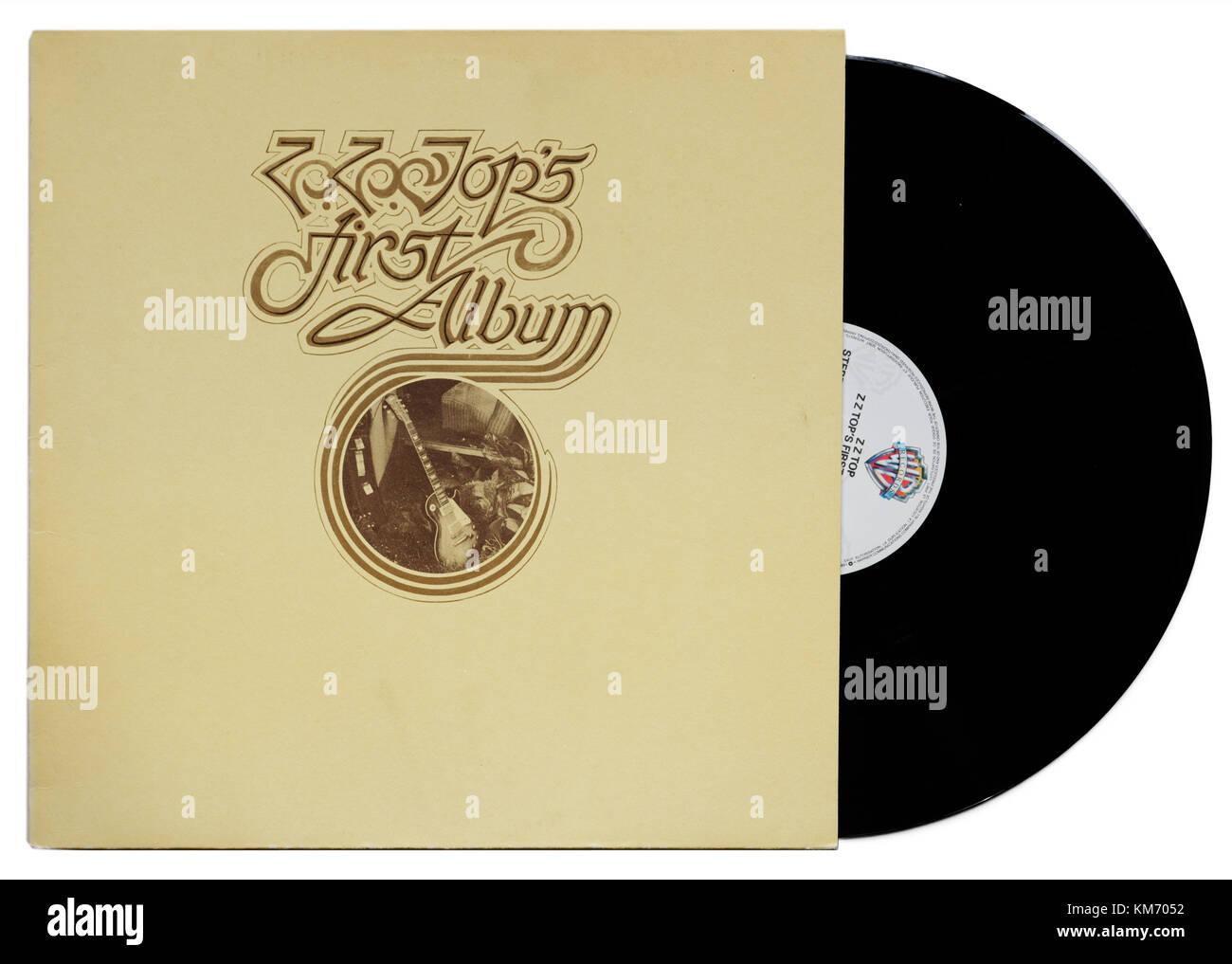 ZZ Top's First Album - Stock Image