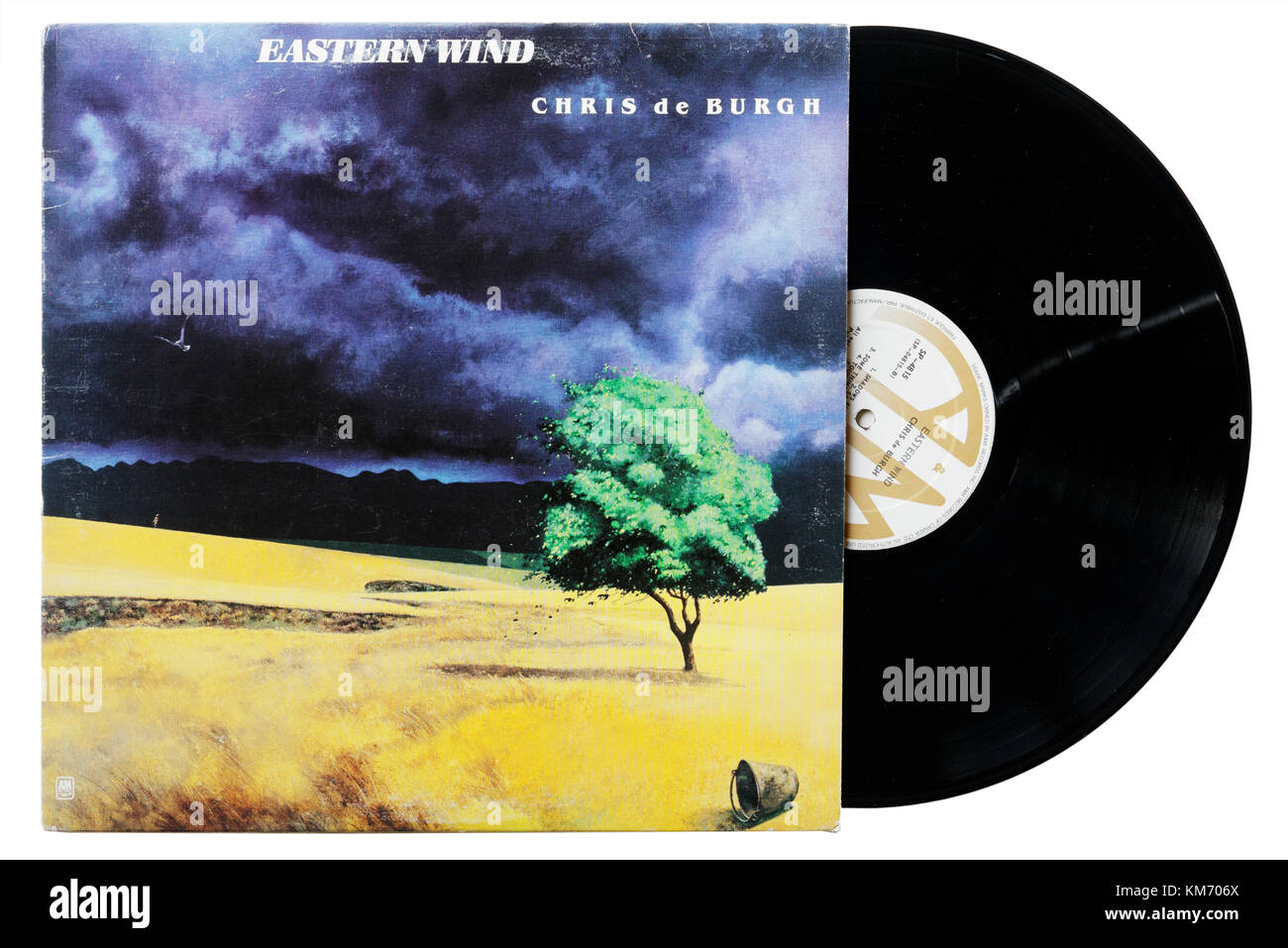 Chris de Burgh Eastern Wind album - Stock Image