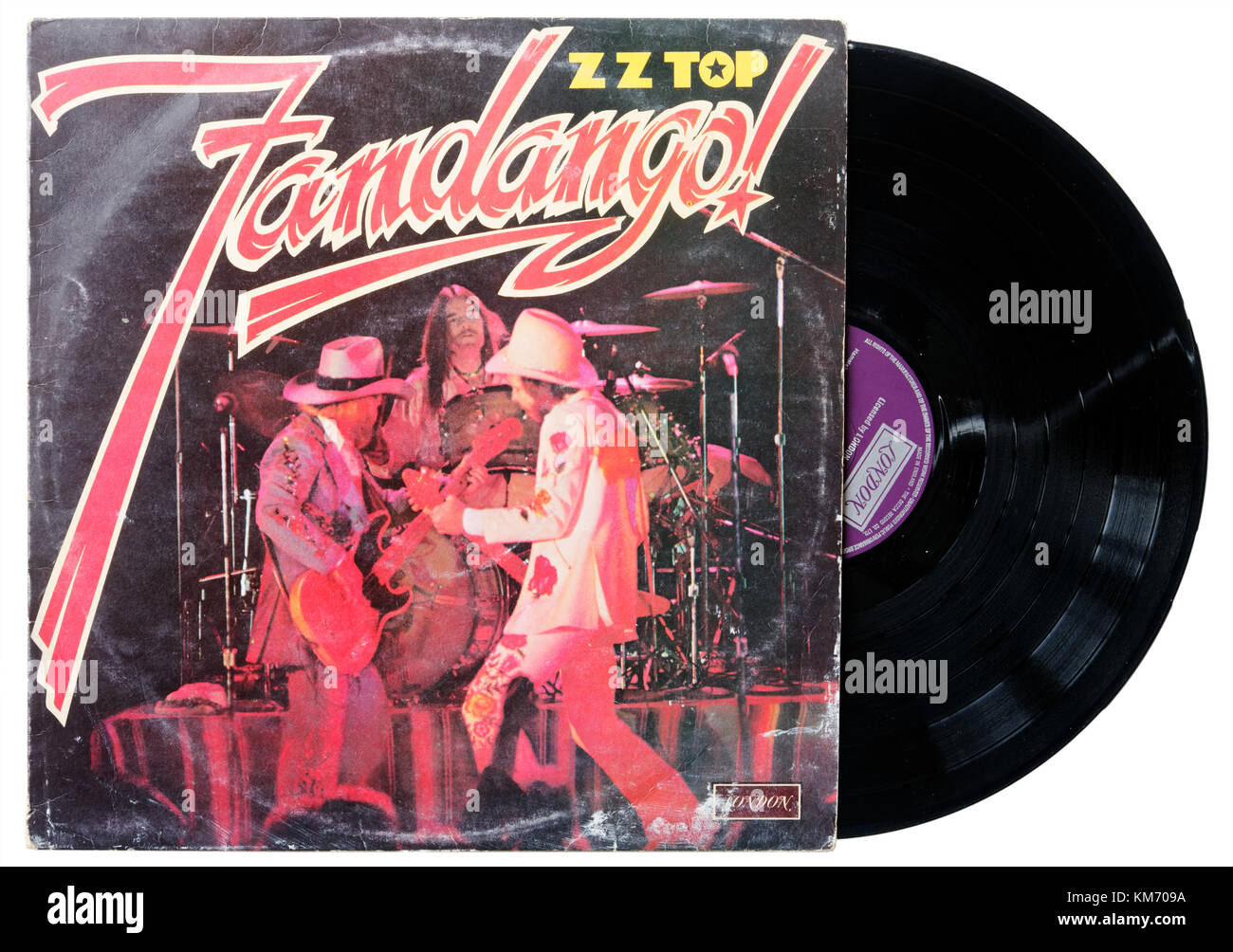ZZ Top Fandango album - Stock Image