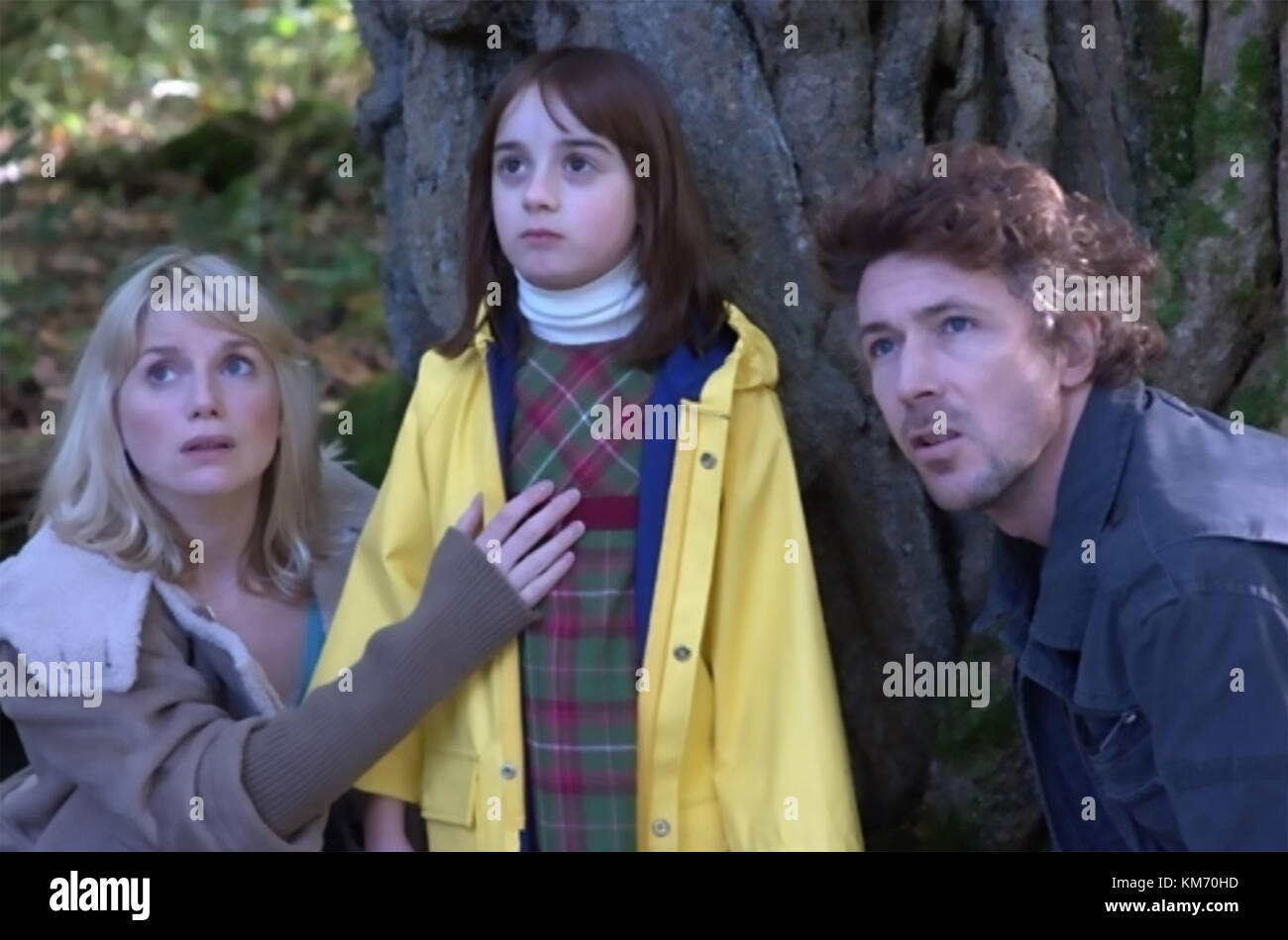 WAKE WOOD 2009 Hammer Films production with from left: Eva Birthistle, Ella Connolly, Aidan Gillen - Stock Image