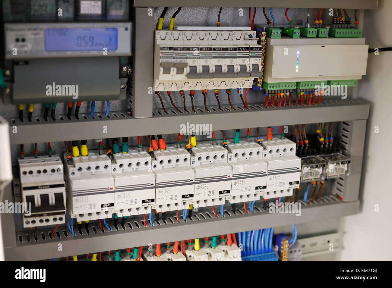 Home Wiring Control Box - Electrical Work Wiring Diagram •