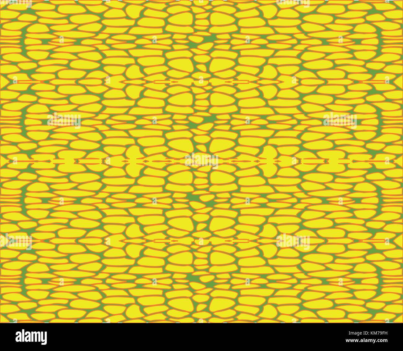 Background wall from yellow stone - Stock Vector