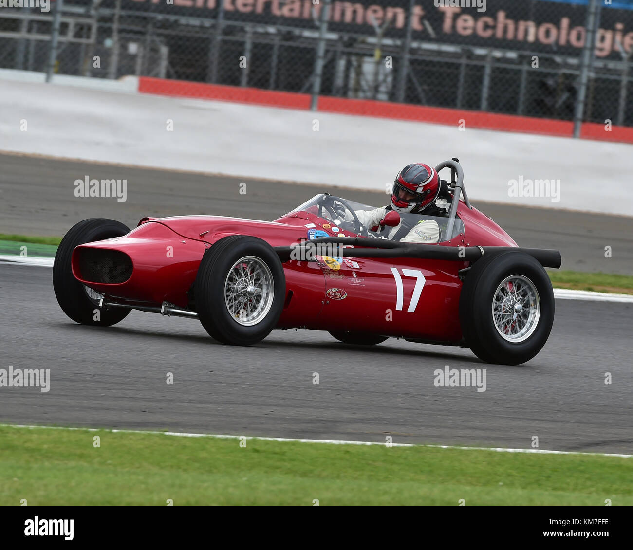 Tony Wood Maserati Tecmec Maserati Trophy For Hgpca Pre 66 Grand