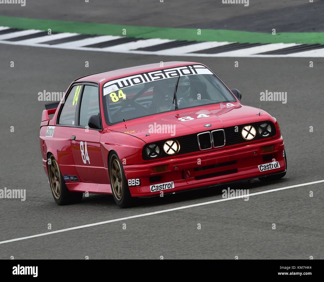 Steve Jones, BMW E30 M3, Super Touring Car Trophy, Silverstone Classic, July