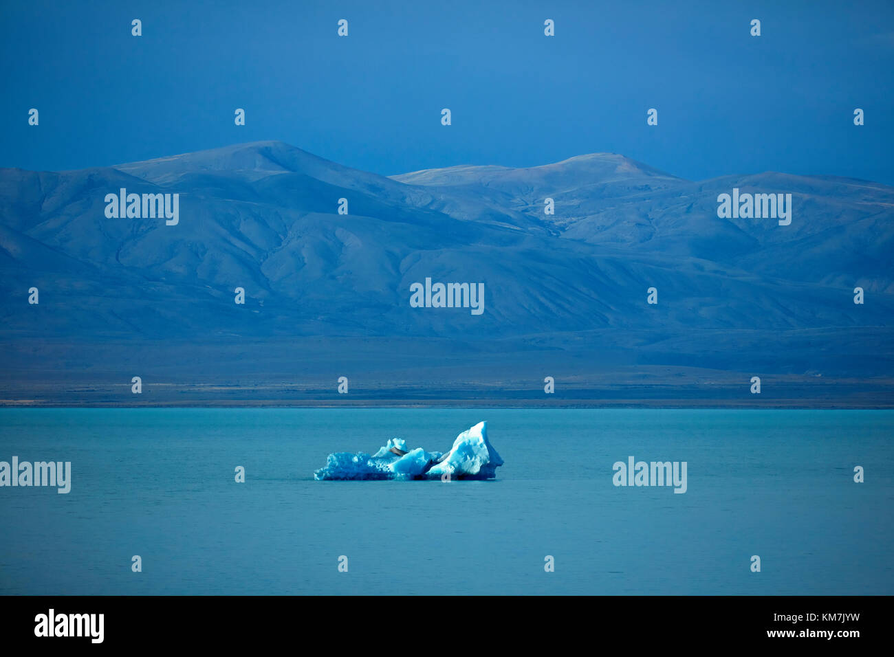 Iceberg in Lago Viedma, Patagonia, Argentina, South America - Stock Image