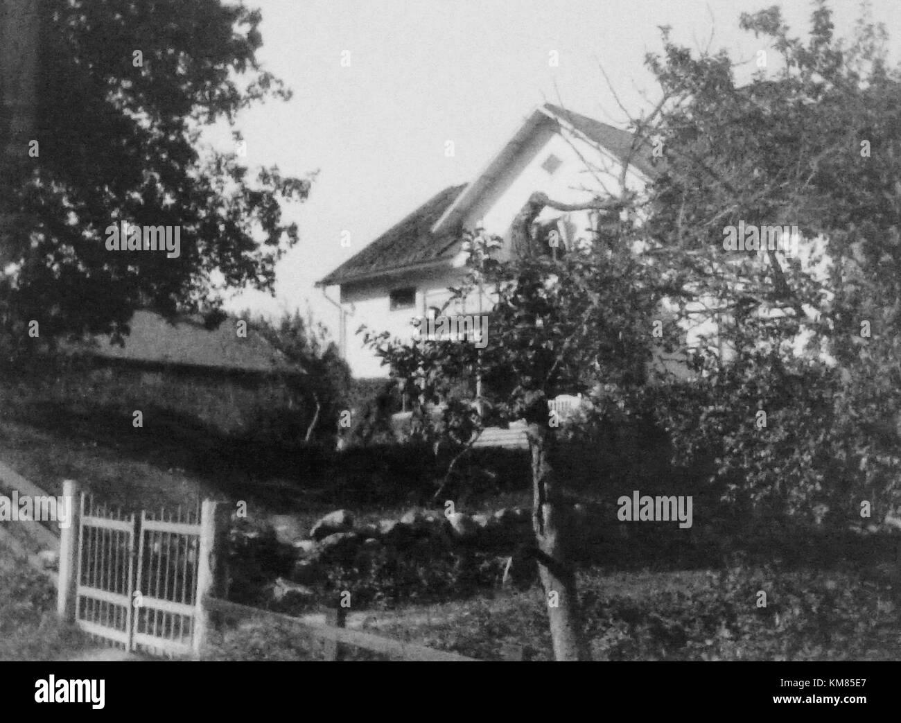 Prinsvillan Eugen 1900d - Stock Image