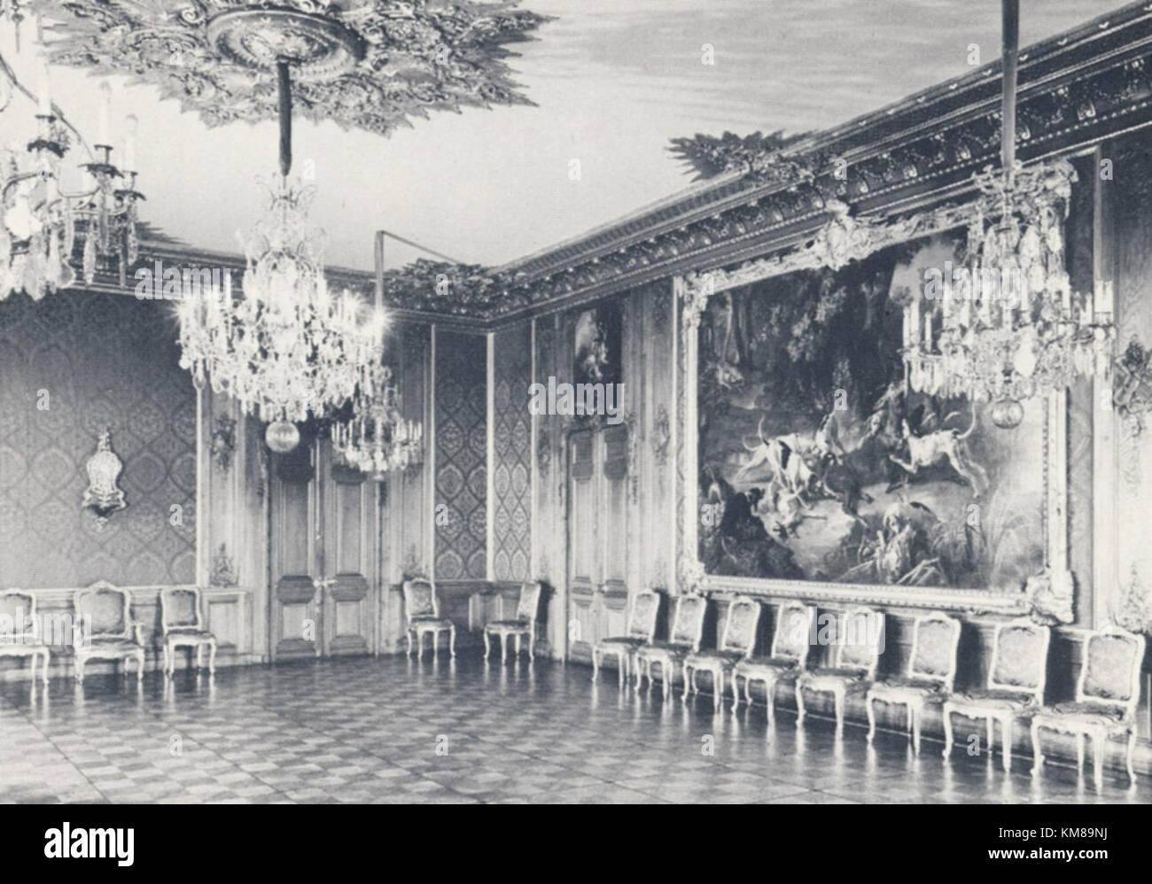 Lovisa Ulrikas matsal 1950 - Stock Image
