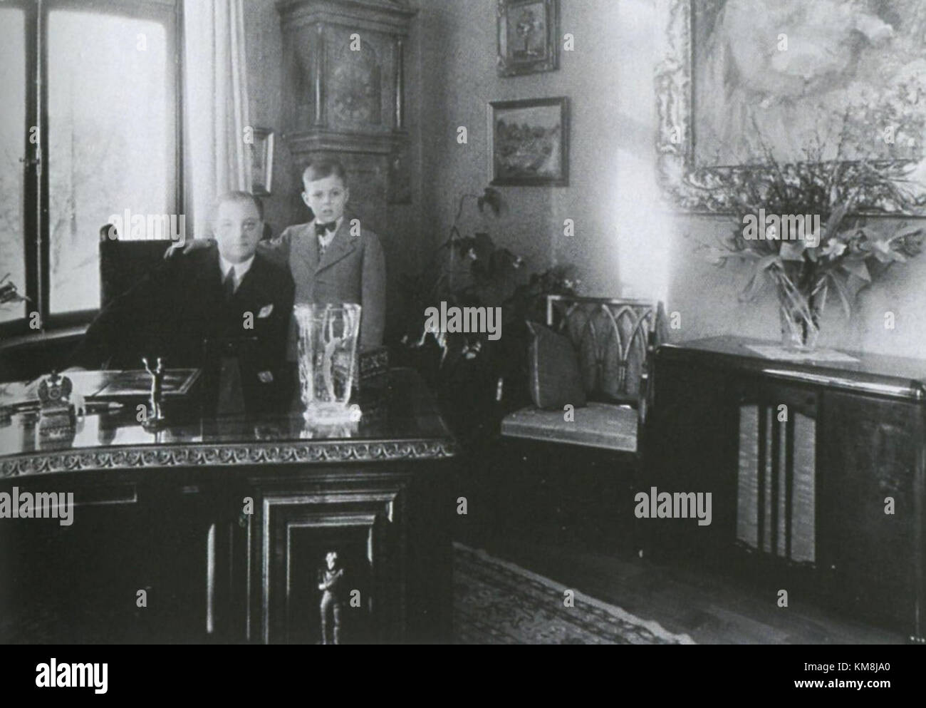 Gylling 1940 Stock Photo