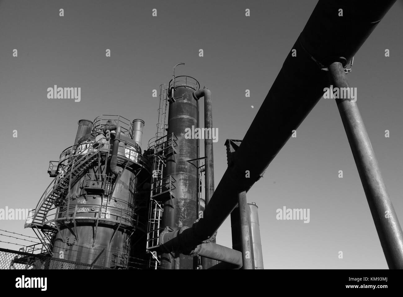 Gas Works Park - Stock Image