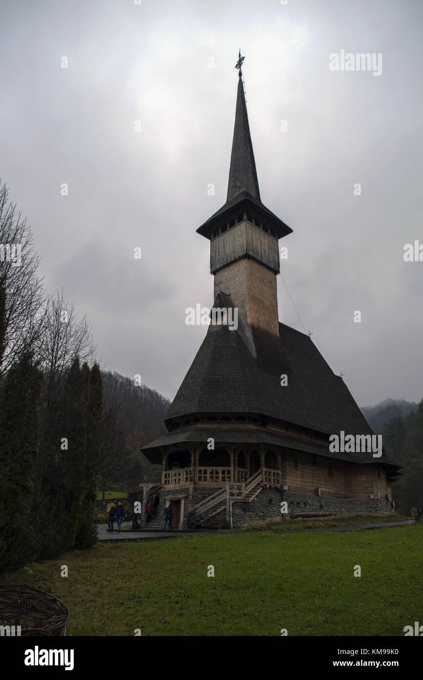 Barsana Monastery - Stock Image