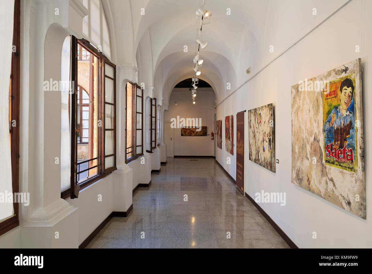 Centro De Historia Y Cultura Militar De Balearas, Palma De Mallorca, Majorca, Belearic Islands, Spain, Europe - Stock Image