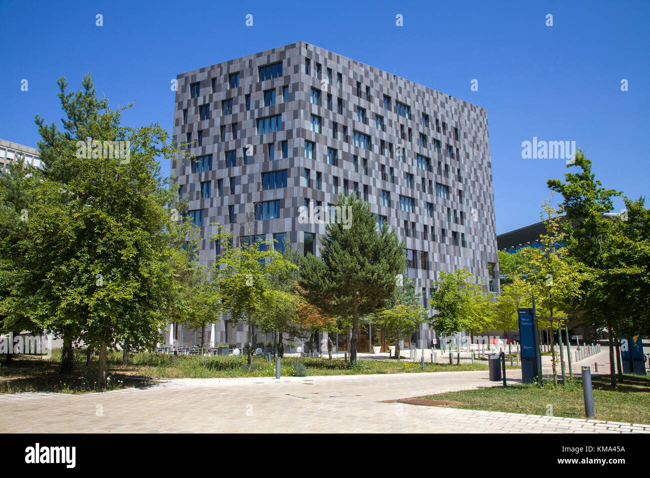 Hotel Melia at Kirchberg, Luxembourg-city, Luxembourg, Europe - Stock Image