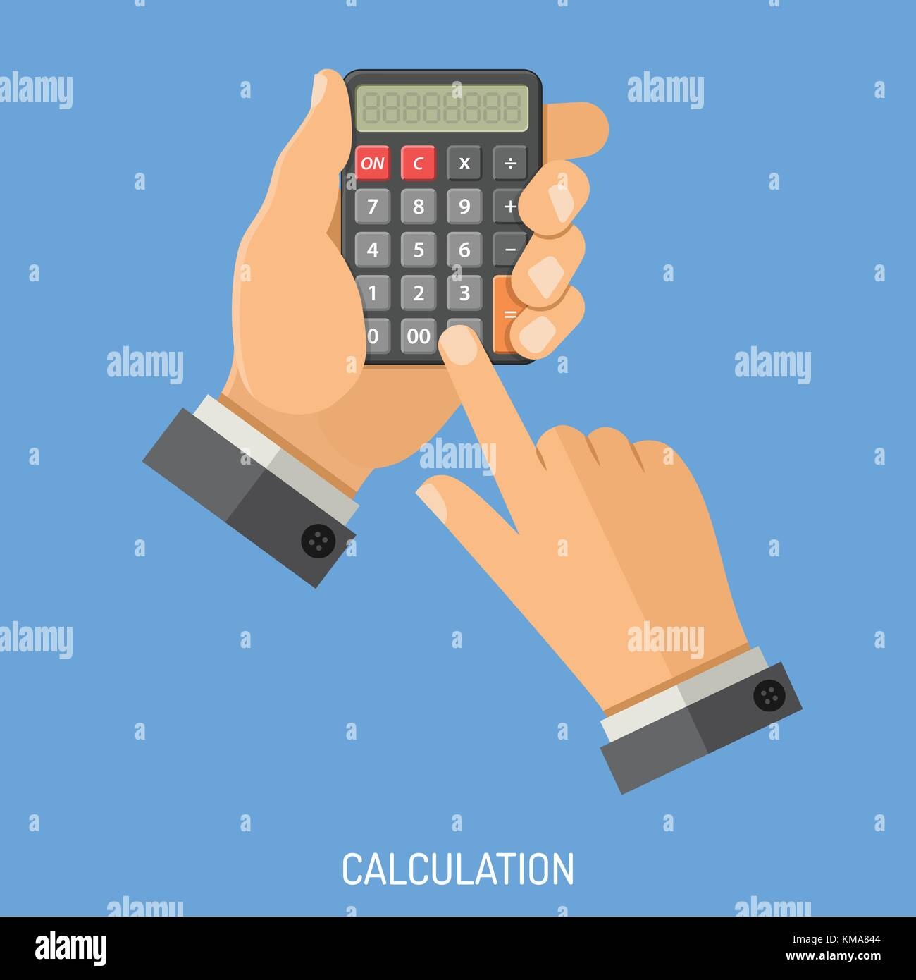 Calculation and Counting Concept - Stock Image