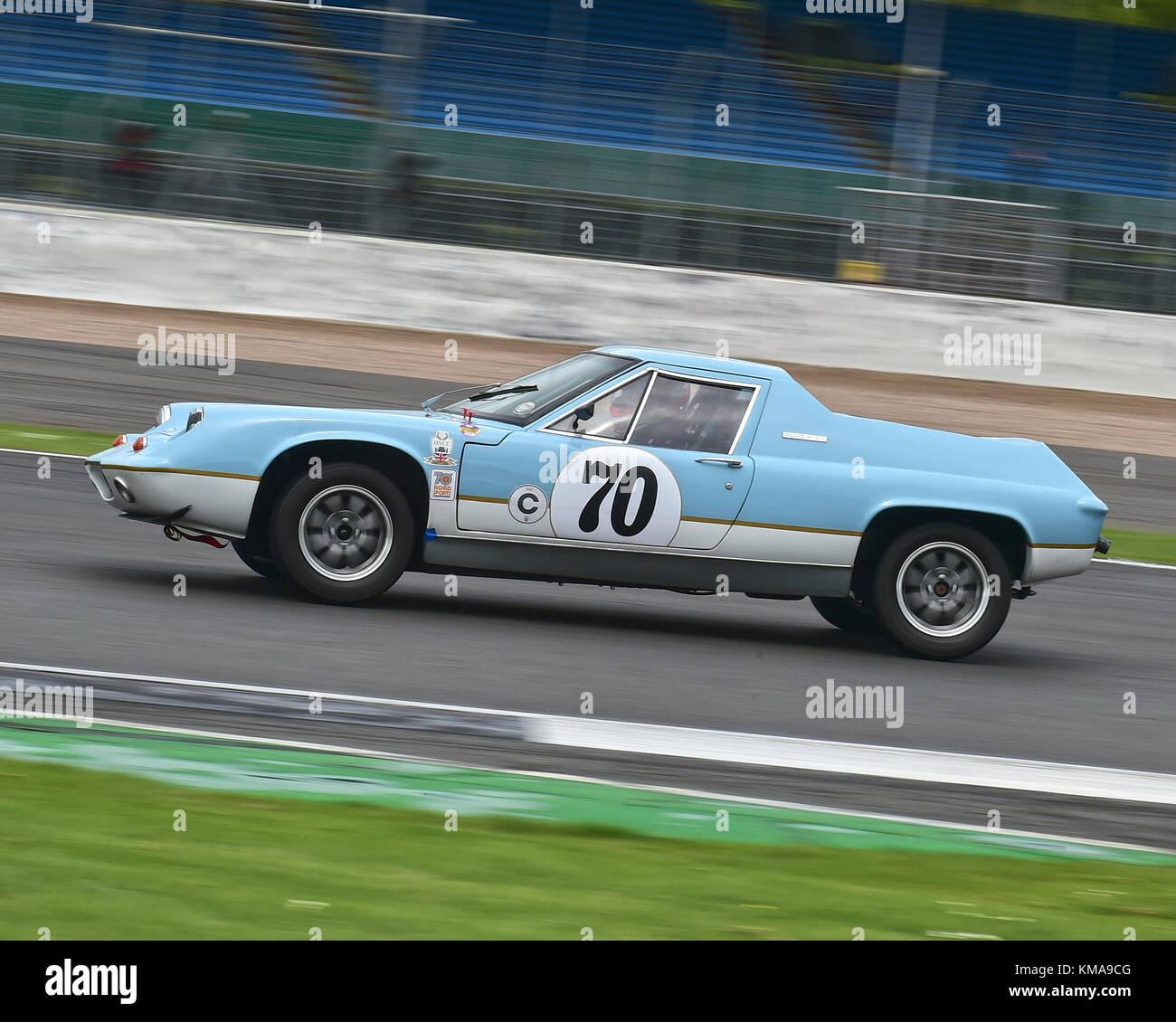Steve Skipworth, Lotus Europa, 70\'s Road Sports, HSCC, Silverstone ...