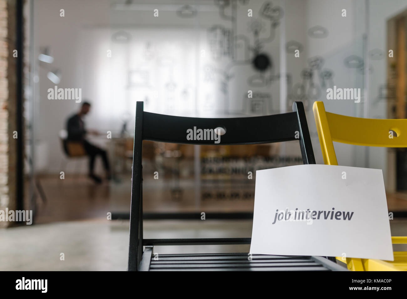 New job openings for a new start-up company - Stock Image