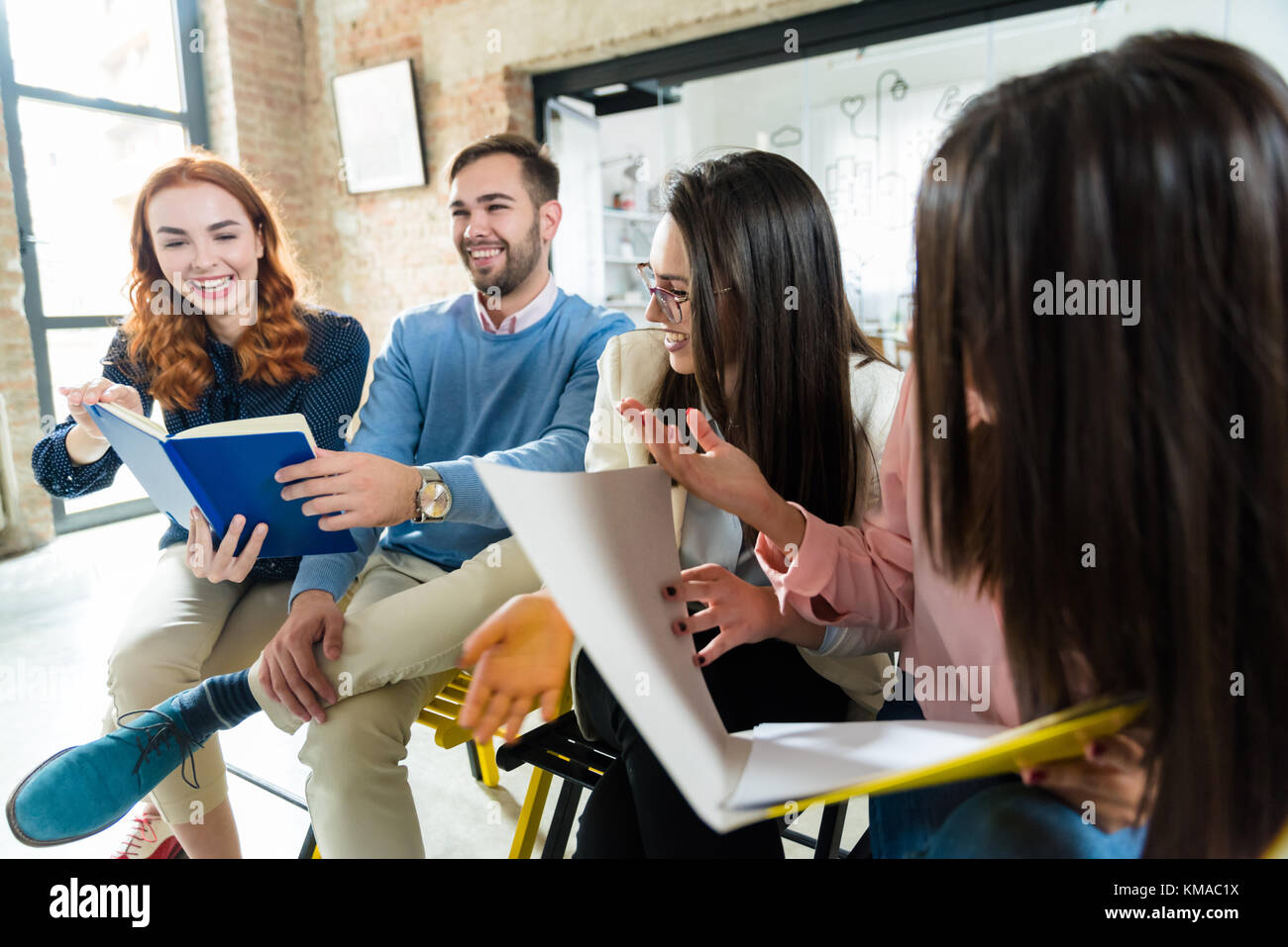 Applying for jobs at the same company - Stock Image