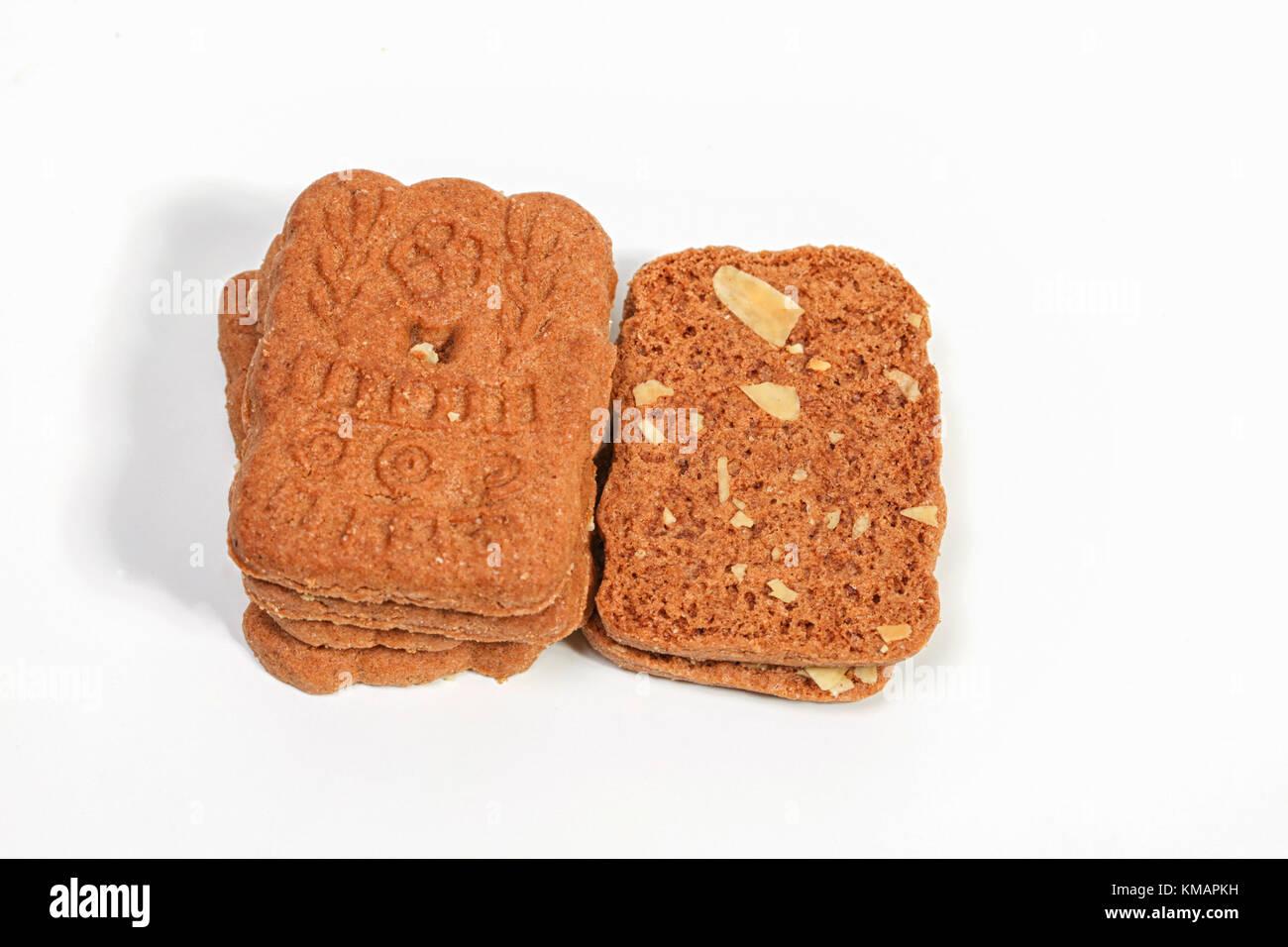 Dutch Christmas Biscuit Almond Stock Photos Dutch Christmas