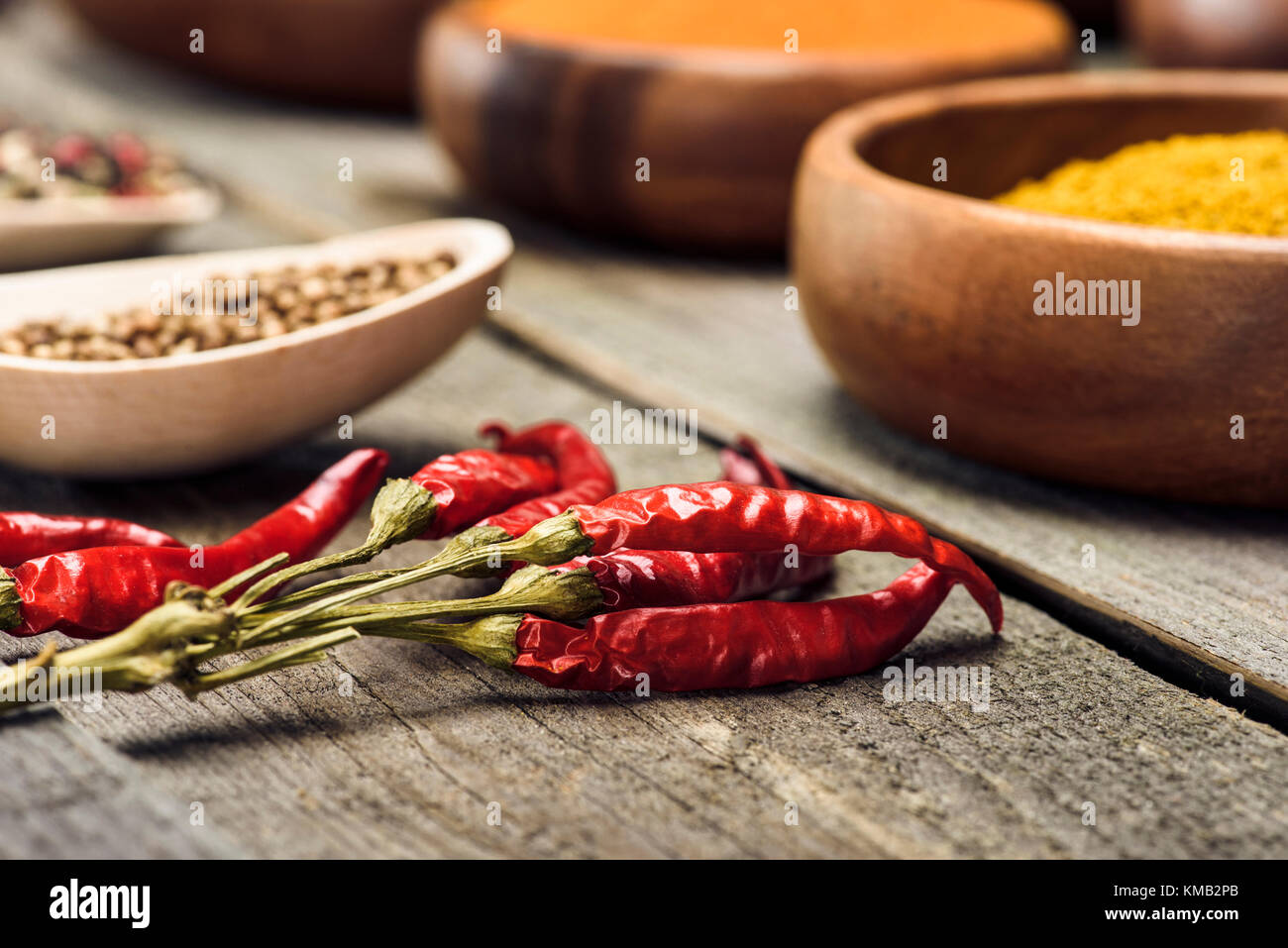 Chili peppers - Stock Image