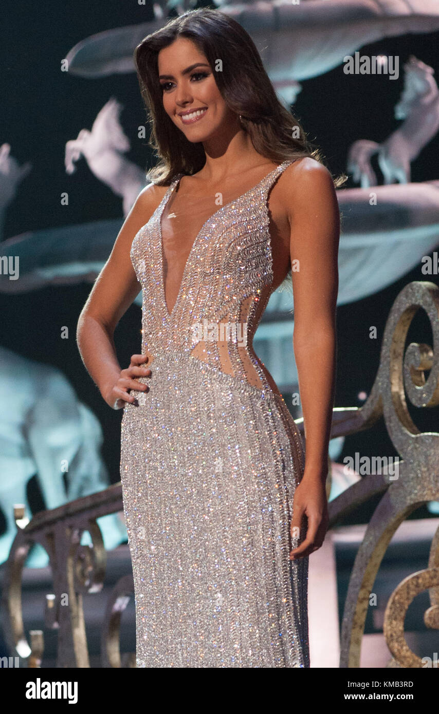 Miss Universe 2015 Pageant Top Ten Finalists Stock Photos & Miss ...