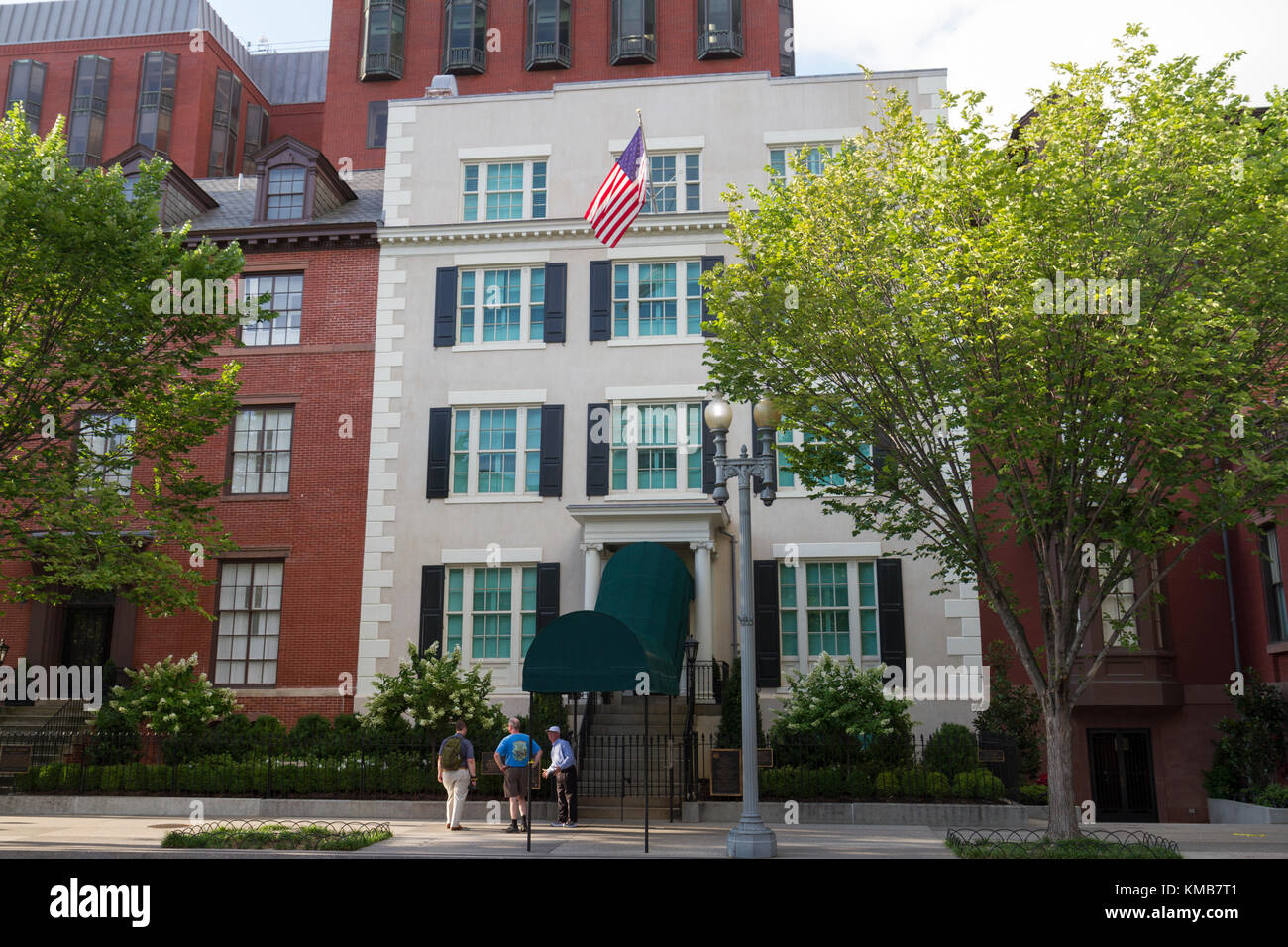 The original Blair House, part of the President's Guest