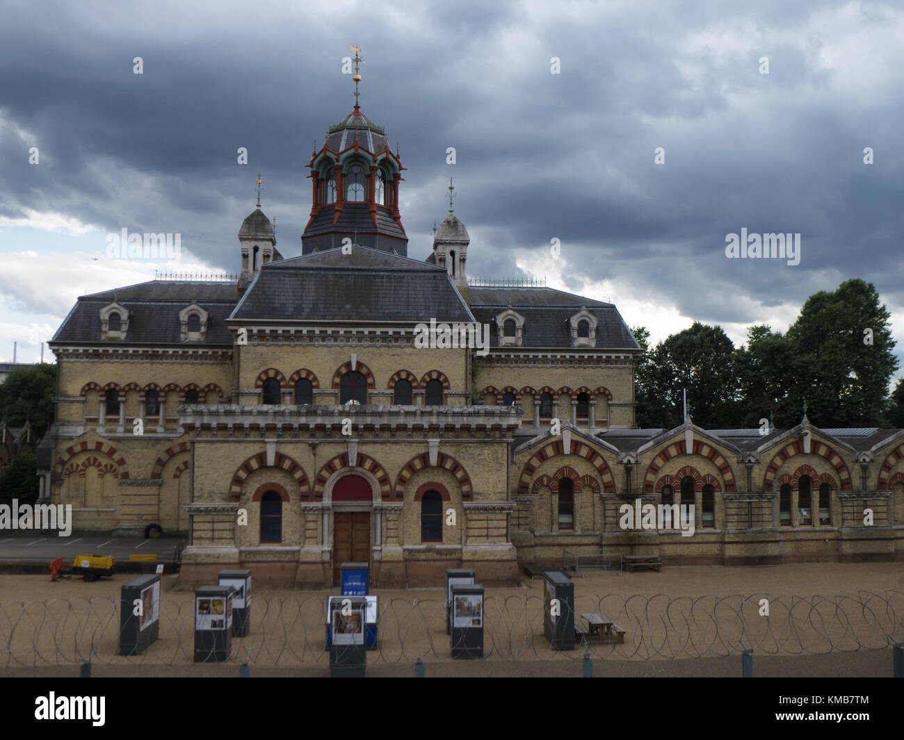 Abbey Mills Pumping Station, Stratford, East London - Stock Image