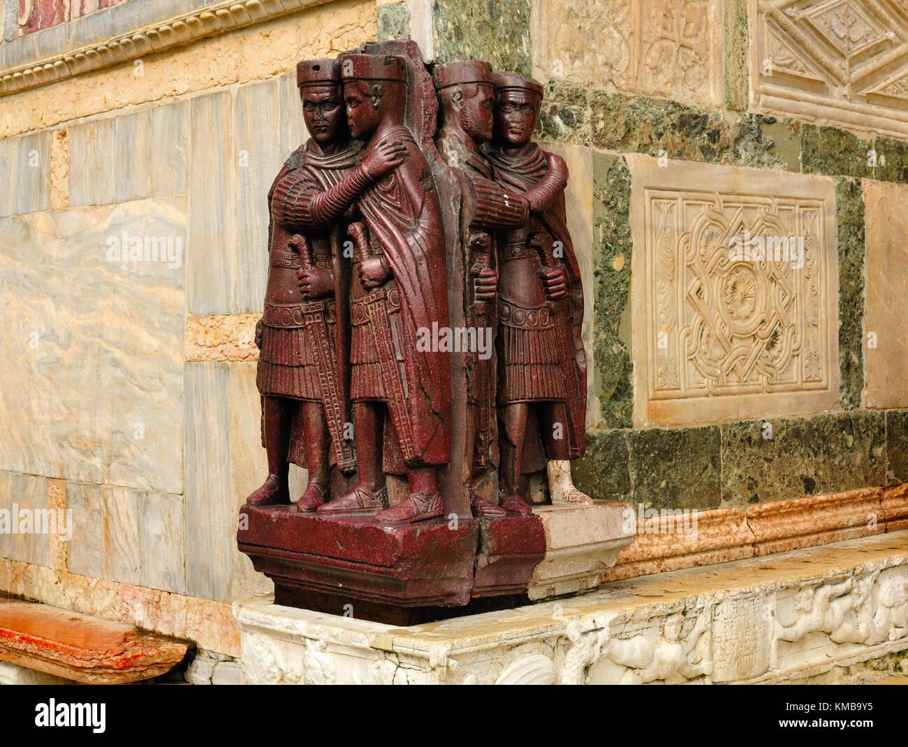 The Tetrarchs, Basilica San Marco, Venice Stock Photo