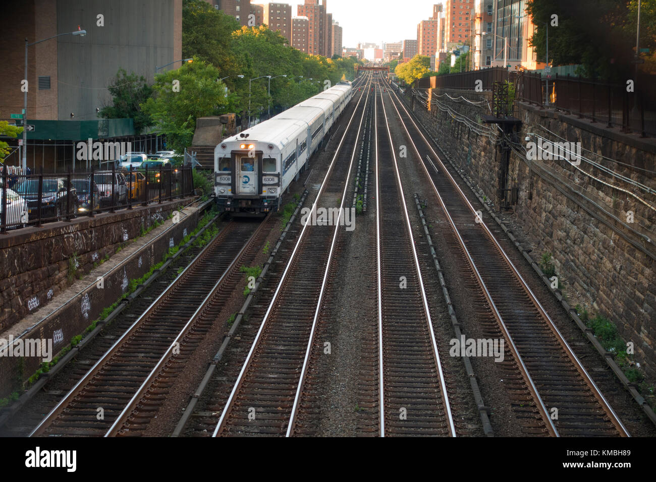 NYC subway stations in Manhattan Stock Photo